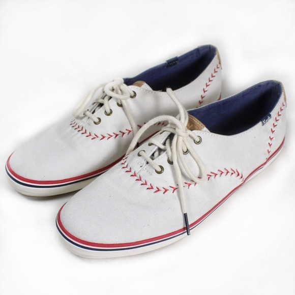 6693d954516 Keds Shoes - Keds Baseball Stitch Sneakers Size 11 White
